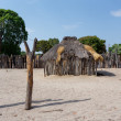 Traditional african village with houses — Stock Photo #76942693