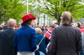 The constitution day' parade in Stavanger, May 2014 — Stock Photo