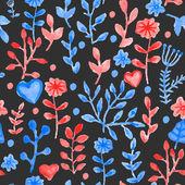 Flores de color — Vector de stock