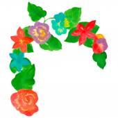Kolor kwiatów — Wektor stockowy