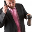 Businessman in shock — Stock Photo #70597787