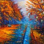 Постер, плакат: Autumn landscape