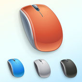 Vector computer mouse — Stock Vector