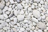 White colour round stone background — Stock Photo
