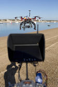 Monitor drone — Stockfoto