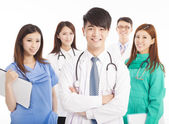 Professional medical doctor team standing — Foto de Stock