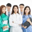 Professional medical doctor team standing — Stock Photo #53970463