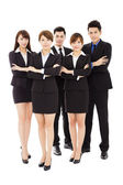 Successful business people standing together — Stock Photo