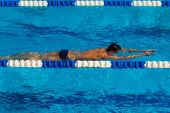 Swimming - Stock Image — Stock Photo
