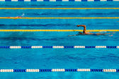 Swimming competition — Stock Photo