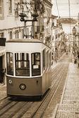 Lisbon's Gloria Funicular - Portugal, Europe — Stock Photo