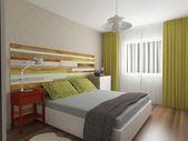 Bedroom inerior design — Stock Photo