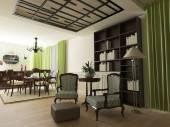Elegant home interior design — Stock Photo