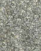 3d fragmented gray timber tile grunge pattern backdrop  — Stock Photo