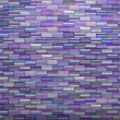 Purple tile mosaic wall floor grunge stone 3d render — Stock Photo #53186801