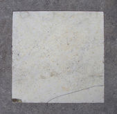 White marble embedded in gray grunge stone     — Stock Photo