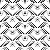 Seamless pattern with spider — Stock Vector