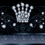 Brilliant  Queen crown VIP greeting card, vector illustration — Stock Vector #62830915