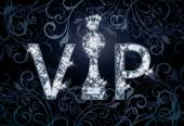 Diamond VIP chess banner , vector illustration — Stock Vector