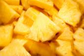 Pineapple chunks — Stock Photo