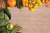 Sfondo di cibo sano — Foto Stock
