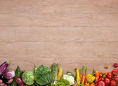 Healthy food background — Stock Photo