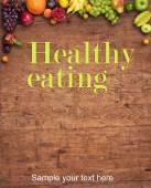 健康饮食的背景 — 图库照片