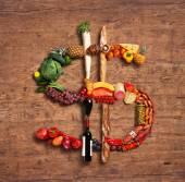 我々 の信頼食品 — ストック写真