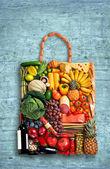 Gastronomy handbag — Stock Photo
