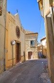 Church of St. Antonio. Genzano di Lucania.Italy. — Stock Photo