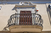 Historical palace. San Severo. Puglia. Italy. — Stock Photo