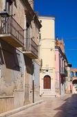 Alleyway. Torremaggiore. Puglia. Italy. — Stock Photo