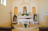 Church of St. Francesco. Rocca Imperiale. Calabria. Italy. — Stock Photo