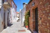Alleyway. Rocca Imperiale. Calabria. Italy. — Foto Stock