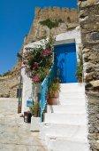 Alleyway. Rocca Imperiale. Calabria. Italy. — Foto de Stock