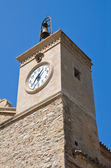 Mother Church of Rocca Imperiale. Calabria. Italy. — Stock Photo