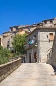 Beco. guardia perticara. basilicata. itália. — Fotografia Stock