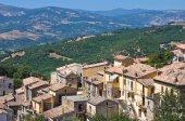 Vista panorâmica de craco. basilicata. itália. — Fotografia Stock