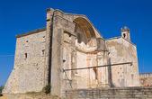 Church of St. Pietro. Craco. Basilicata. Italy. — Stock Photo