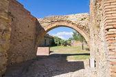View of Craco. Basilicata. Italy. — Stock Photo