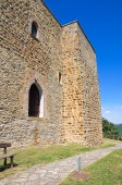 Lagopesole Castle. Basilicata. Italy. — Stock Photo