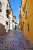 Alleyway. Pietragalla. Basilicata. Italy. — Stock Photo
