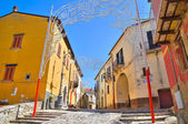 Gränd. pietragalla. basilicata. södra italien. — Stockfoto