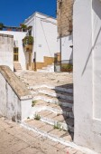 Alleyway. Laterza. Puglia. Italy. — Stock Photo