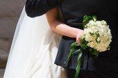 свадьба пара. — Стоковое фото