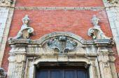 Mother Church of Assunta. Moliterno. Basilicata. Italy. — Стоковое фото