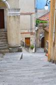 Alleyway. Moliterno. Basilicata. Italy. — Stock Photo