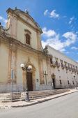 Church of St. Francesco. Fasano. Puglia. Italy. — Foto de Stock
