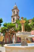 Church of St. Antonio. Fasano. Puglia. Italy. — Stock Photo