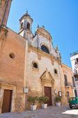 Church of Assunta. Fasano. Puglia. Italy. — Fotografia Stock